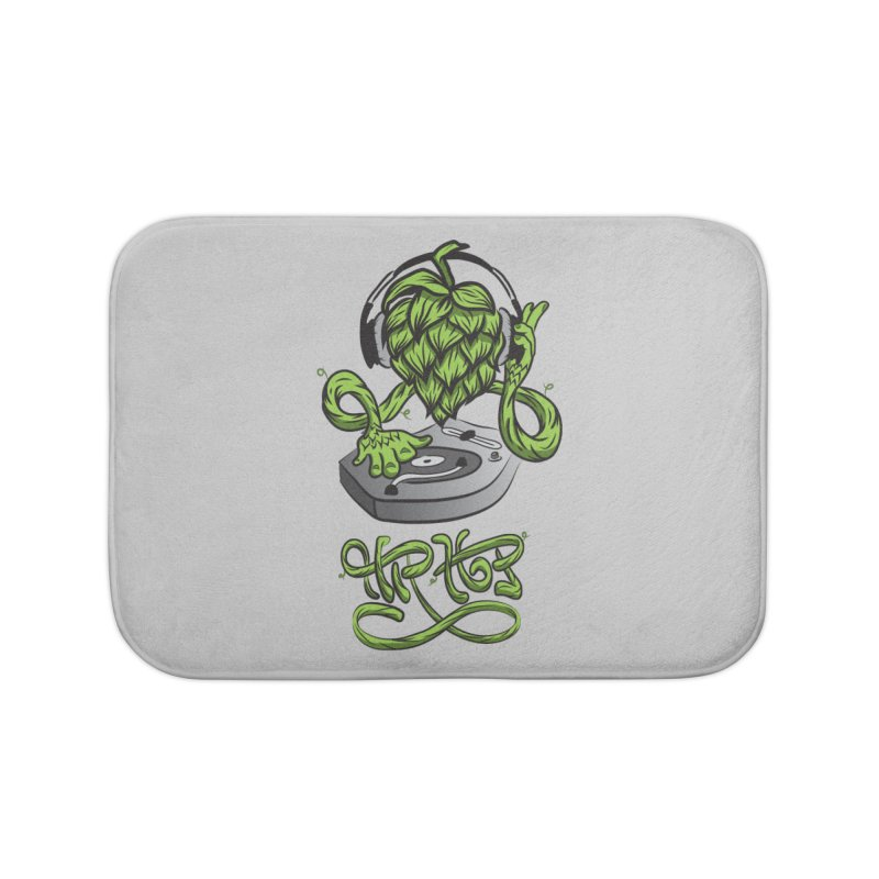 Hip Hop Home Bath Mat by Dijanni's Artist Shop
