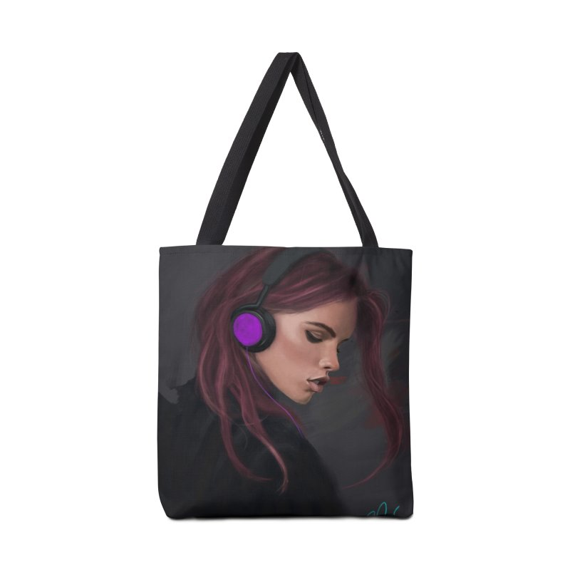 Jammin' Accessories Tote Bag Bag by Dijanni's Artist Shop