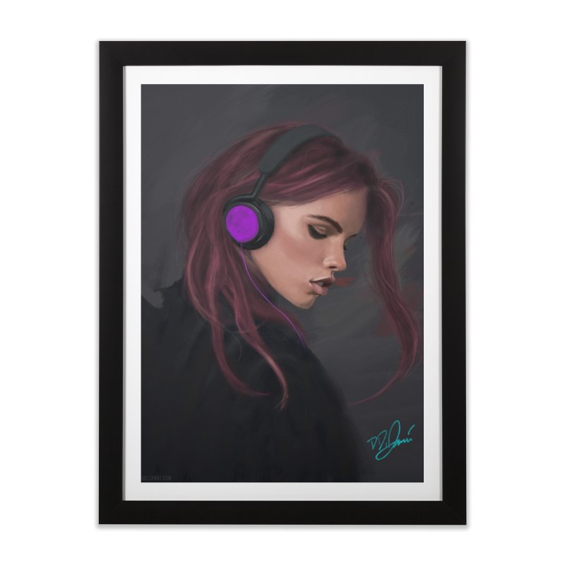 Jammin' Home Framed Fine Art Print by Dijanni's Artist Shop