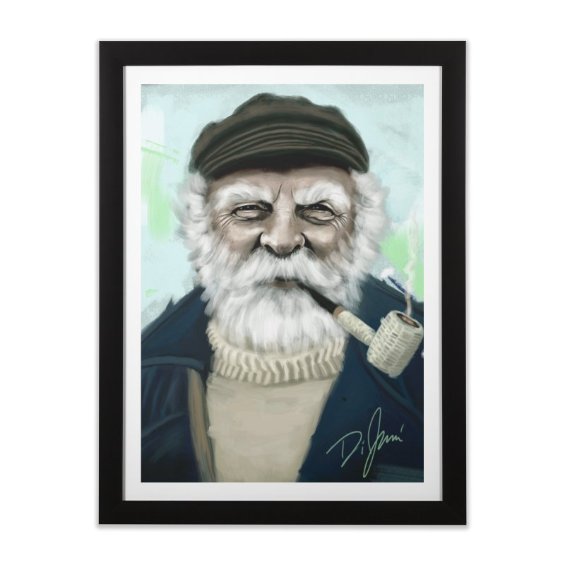 Sailor Man Home Framed Fine Art Print by Dijanni's Artist Shop