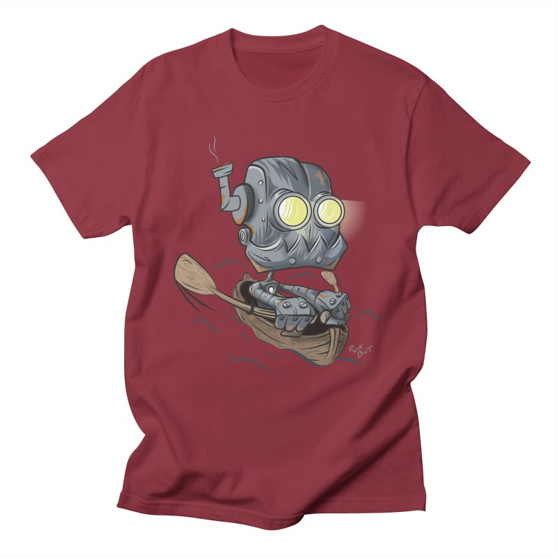 Row-bot Men's Regular T-Shirt by Dijanni's Artist Shop