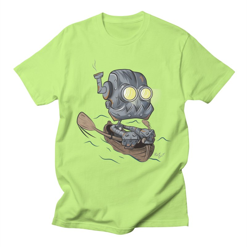 Row-bot Men's Regular T-Shirt by Dijanni's Artist Shop