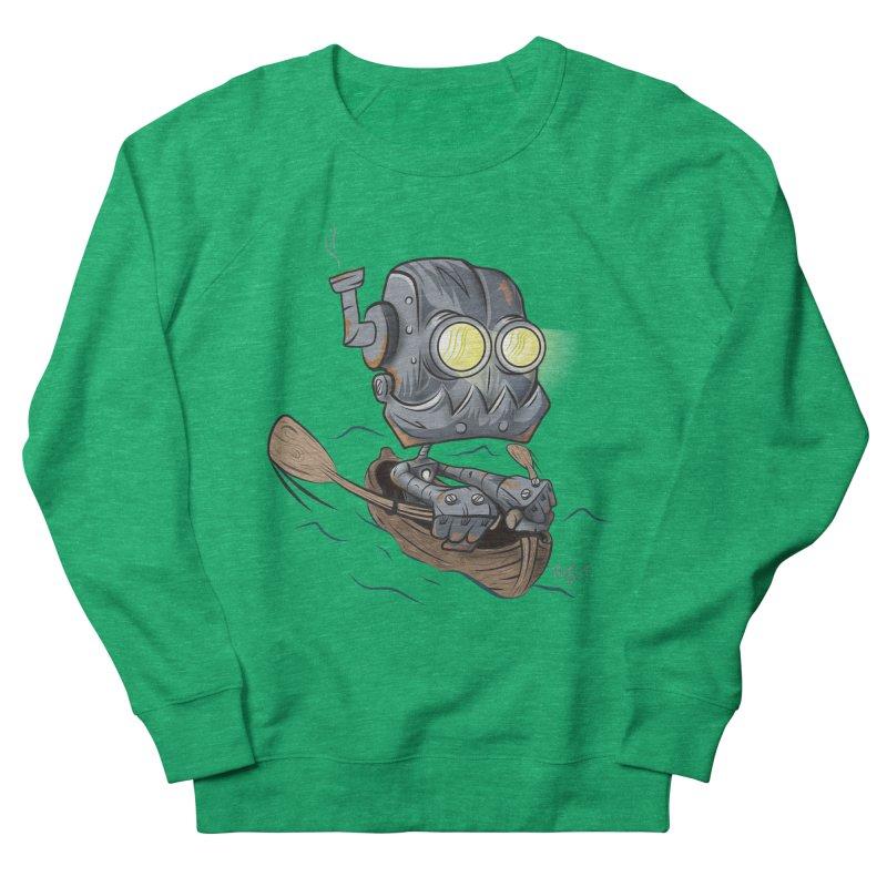 Row-bot Women's Sweatshirt by Dijanni's Artist Shop