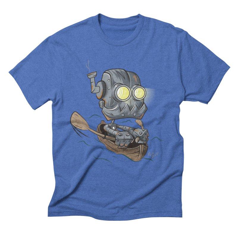 Row-bot Men's Triblend T-Shirt by Dijanni's Artist Shop