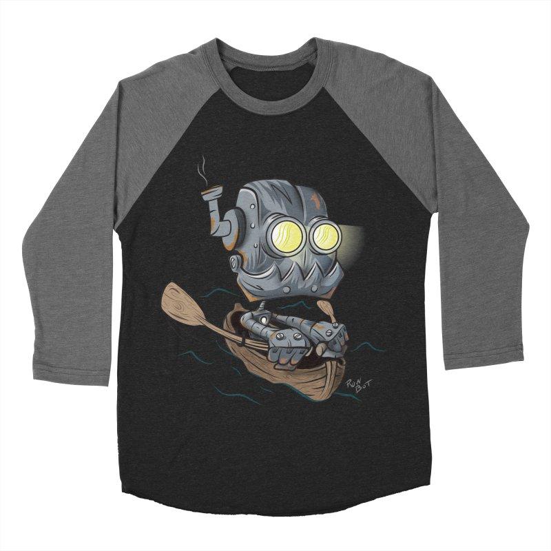 Row-bot Women's Baseball Triblend Longsleeve T-Shirt by Dijanni's Artist Shop