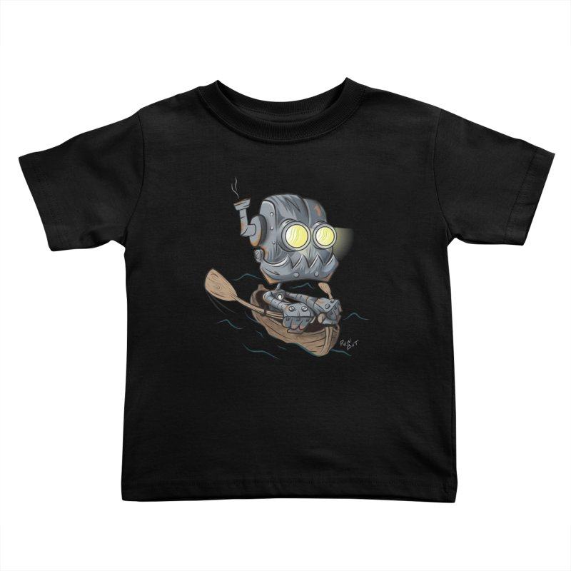 Row-bot Kids Toddler T-Shirt by Dijanni's Artist Shop