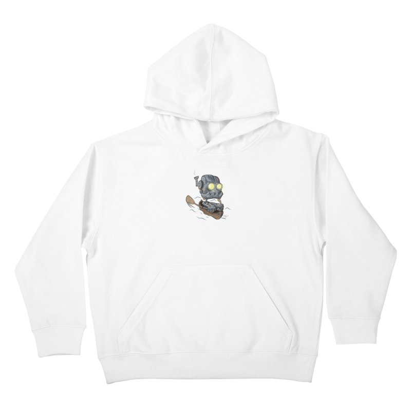 Row-bot Kids Pullover Hoody by Dijanni's Artist Shop