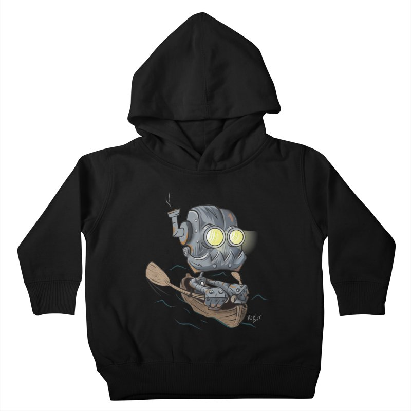 Row-bot Kids Toddler Pullover Hoody by Dijanni's Artist Shop