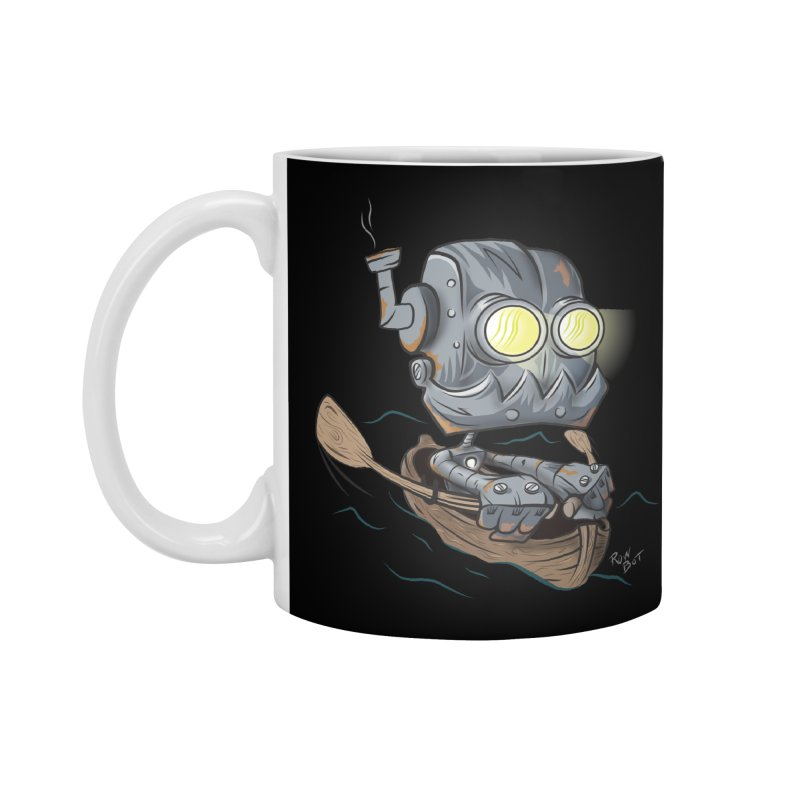 Row-bot Accessories Standard Mug by Dijanni's Artist Shop
