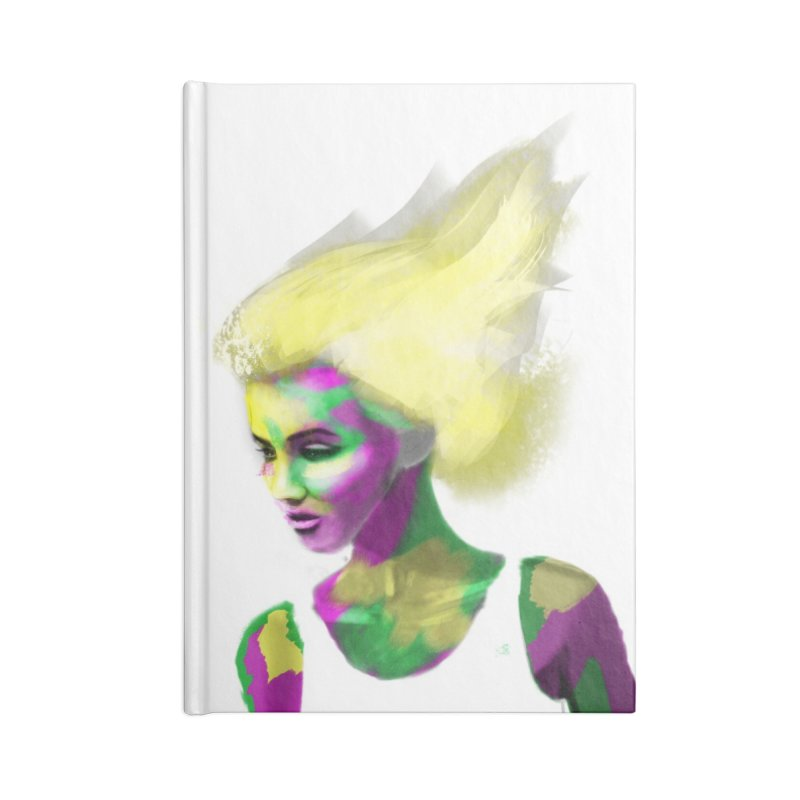 Holi Accessories Lined Journal Notebook by Dijanni's Artist Shop