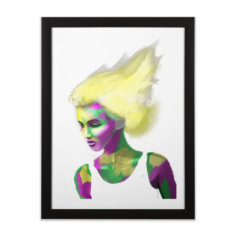 Holi Home Framed Fine Art Print by Dijanni's Artist Shop