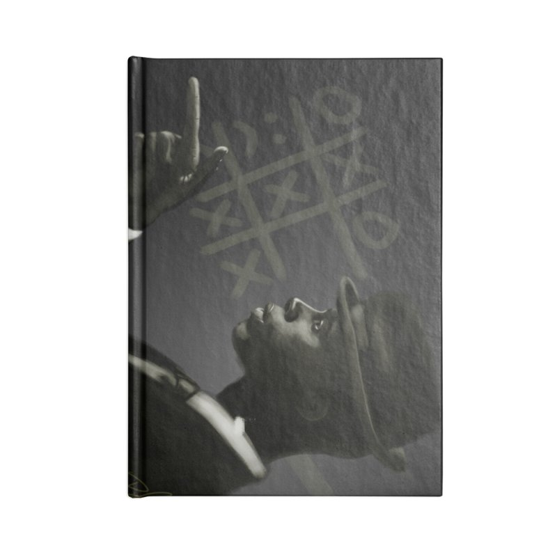 Tic Tac Toe Champion Accessories Blank Journal Notebook by Dijanni's Artist Shop