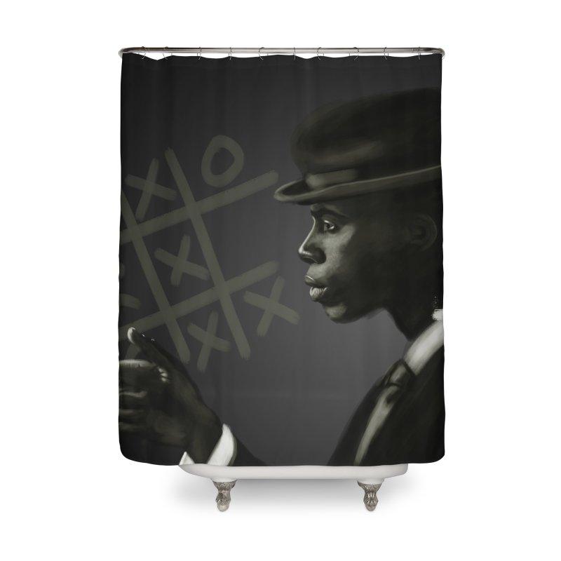 Tic Tac Toe Champion Home Shower Curtain by Dijanni's Artist Shop