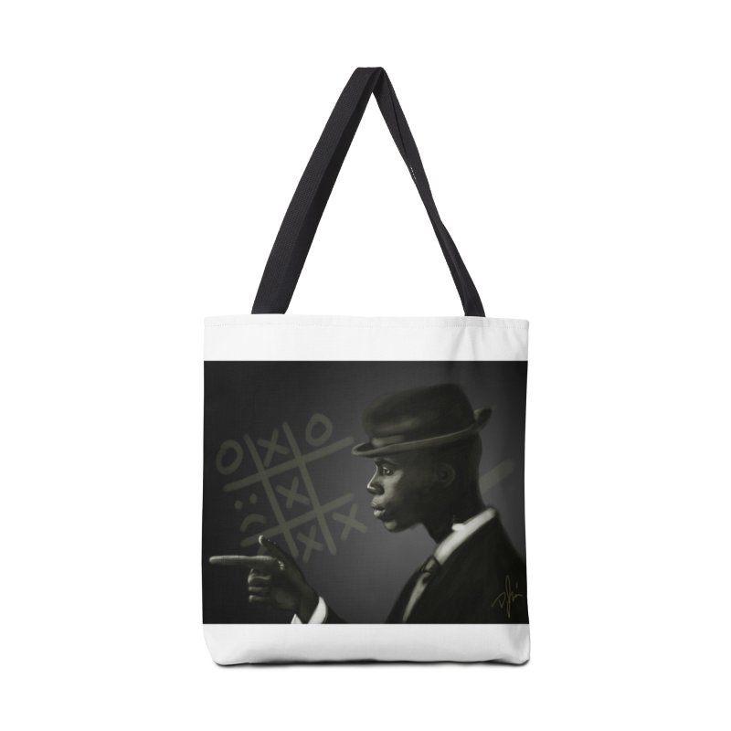 Tic Tac Toe Champion Accessories Tote Bag Bag by Dijanni's Artist Shop