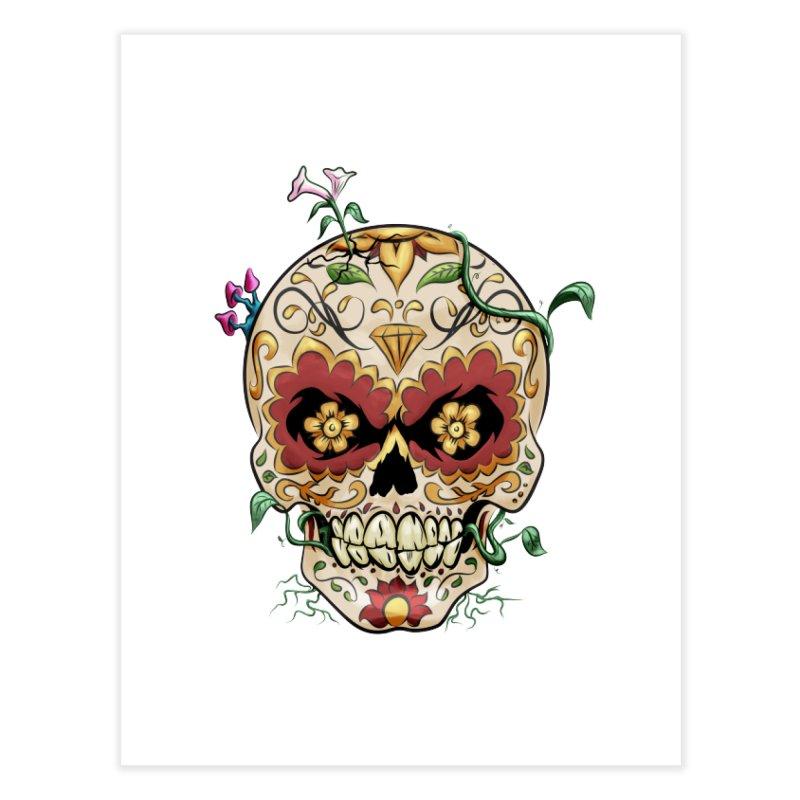 Sugar Skull Home Fine Art Print by Dijanni's Artist Shop
