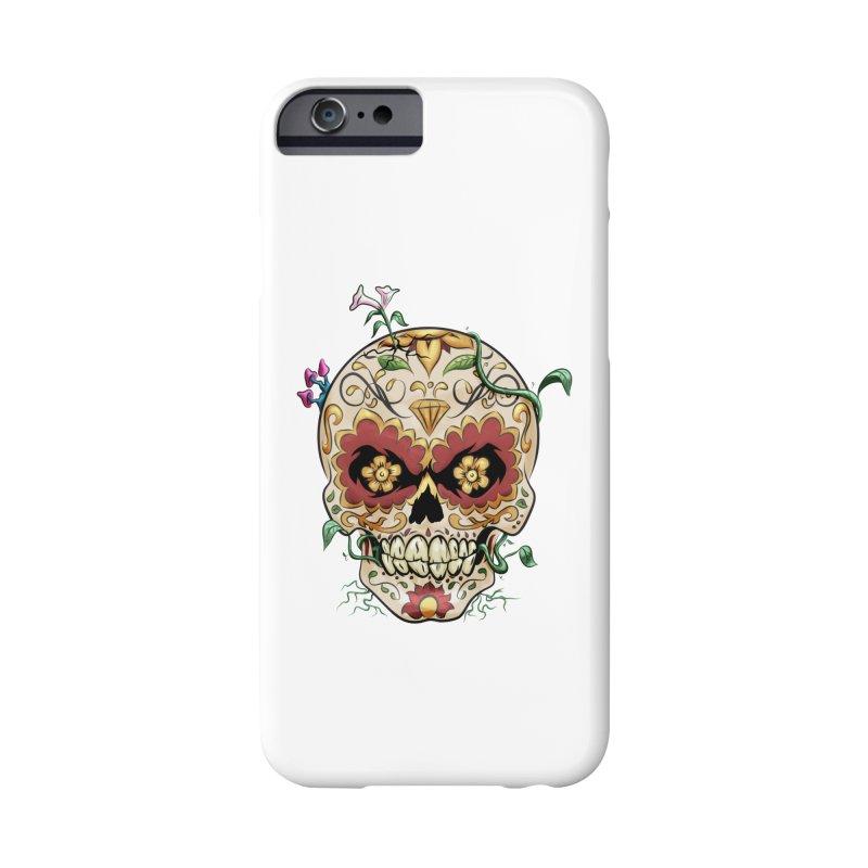 Sugar Skull Accessories Phone Case by Dijanni's Artist Shop
