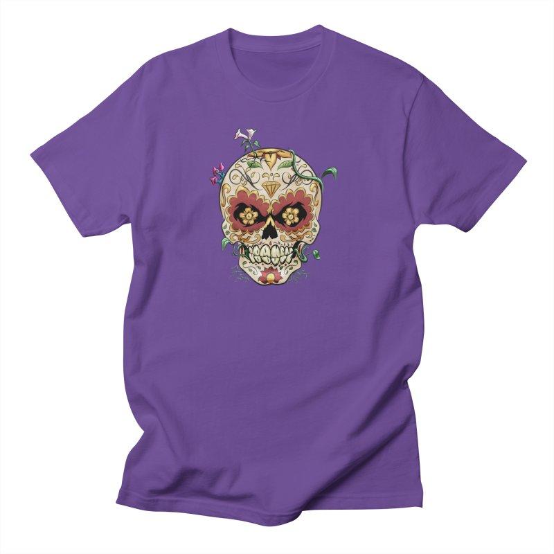 Sugar Skull Men's T-Shirt by Dijanni's Artist Shop