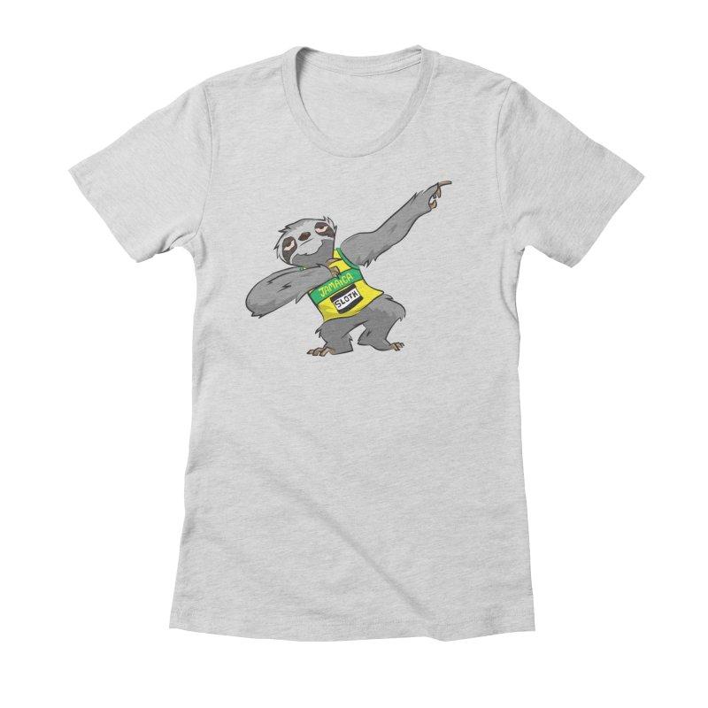 Dream Big Women's Fitted T-Shirt by Dijanni's Artist Shop