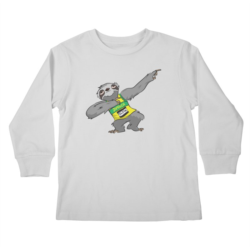 Dream Big Kids Longsleeve T-Shirt by Dijanni's Artist Shop