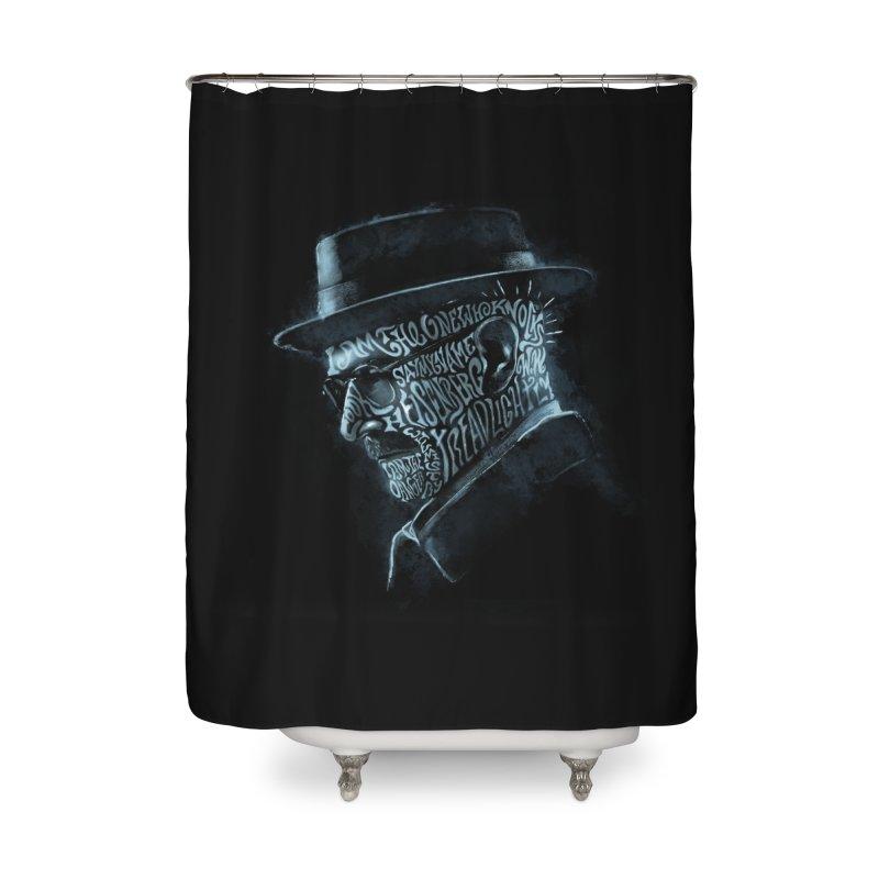 Heisenberg Home Shower Curtain by Dijanni's Artist Shop