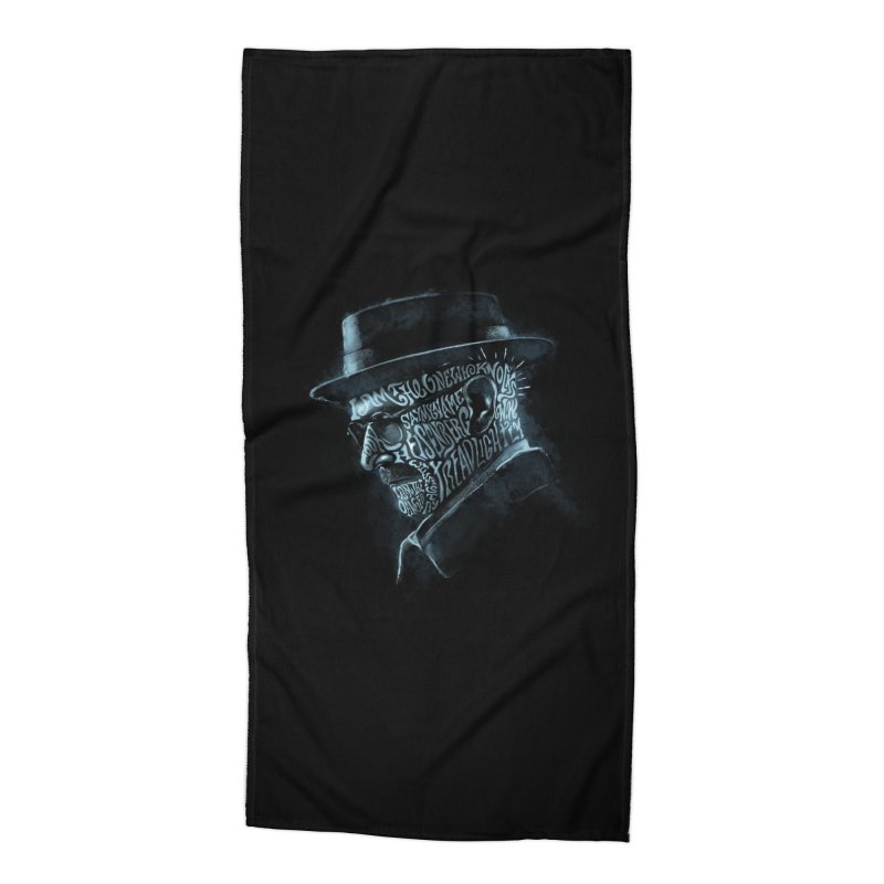 Heisenberg Accessories Beach Towel by Dijanni's Artist Shop