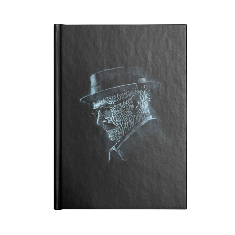 Heisenberg Accessories Blank Journal Notebook by Dijanni's Artist Shop