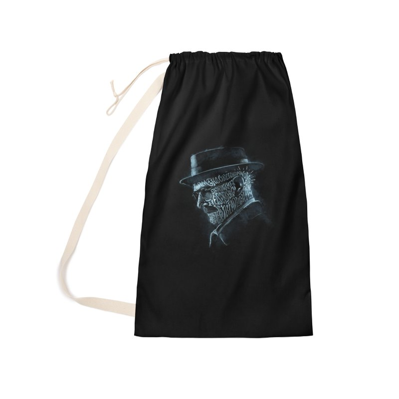Heisenberg Accessories Laundry Bag Bag by Dijanni's Artist Shop