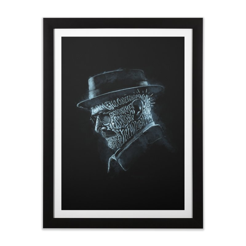 Heisenberg Home Framed Fine Art Print by Dijanni's Artist Shop