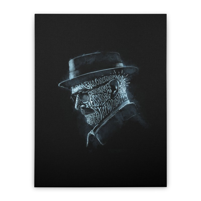 Heisenberg Home Stretched Canvas by Dijanni's Artist Shop