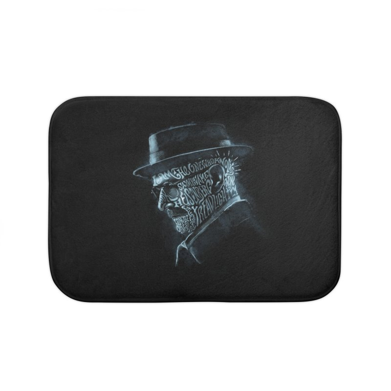Heisenberg Home Bath Mat by Dijanni's Artist Shop