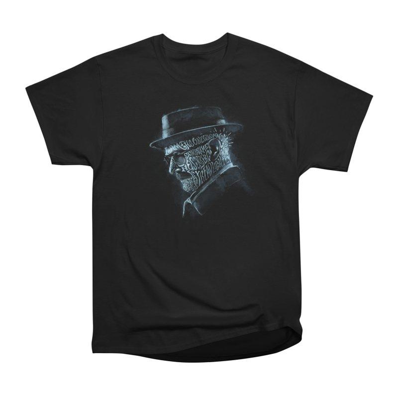 Heisenberg Men's Heavyweight T-Shirt by Dijanni's Artist Shop