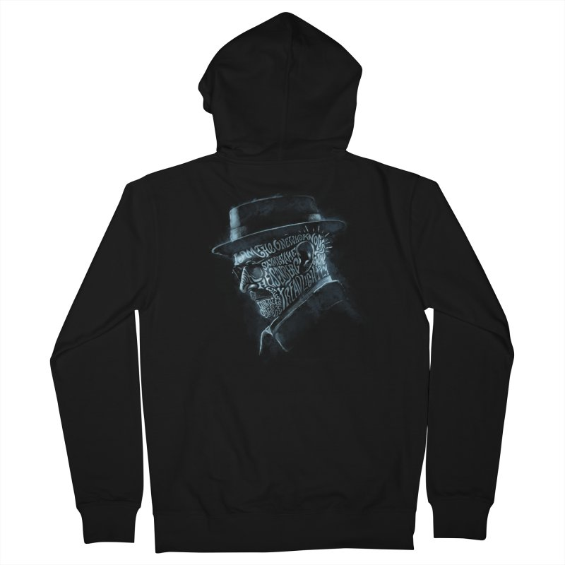 Heisenberg Men's French Terry Zip-Up Hoody by Dijanni's Artist Shop