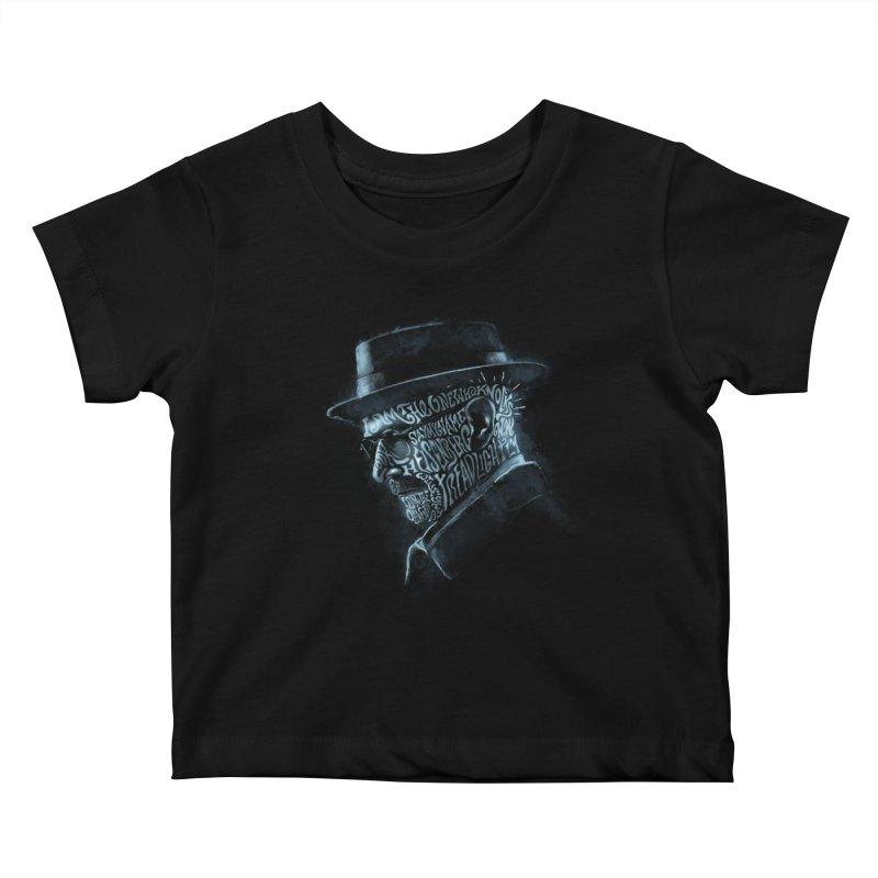 Heisenberg Kids Baby T-Shirt by Dijanni's Artist Shop