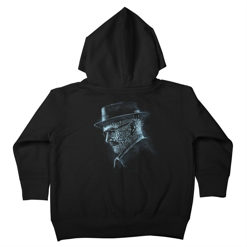 Heisenberg Kids Toddler Zip-Up Hoody by Dijanni's Artist Shop