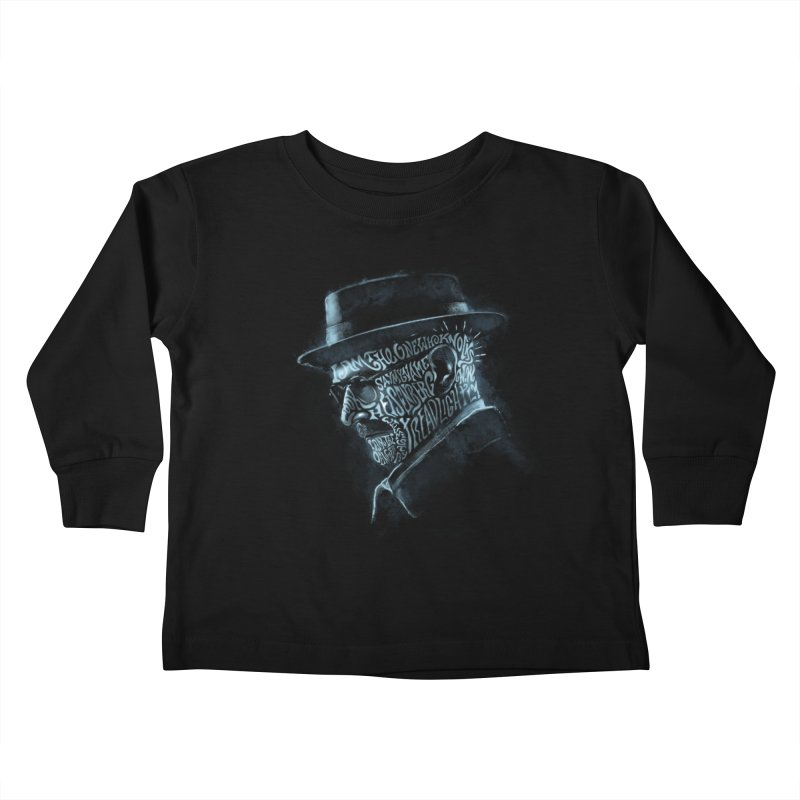 Heisenberg Kids Toddler Longsleeve T-Shirt by Dijanni's Artist Shop