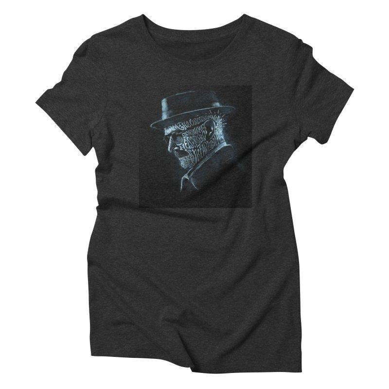 Heisenberg Women's Triblend T-Shirt by Dijanni's Artist Shop