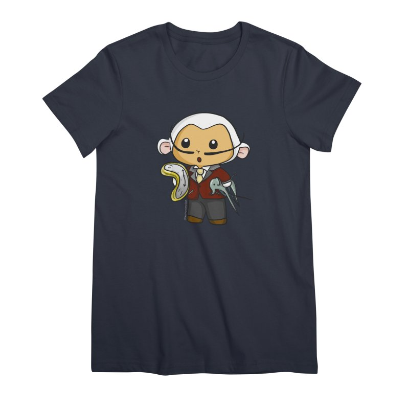 Salvador Lambì Women's Premium T-Shirt by Dino & Panda Inc Artist Shop