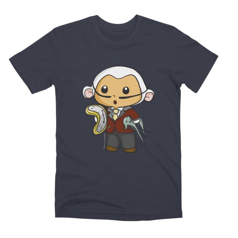 Salvador Lambì Men's Premium T-Shirt by Dino & Panda Inc Artist Shop
