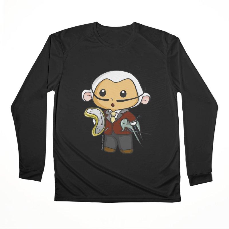 Salvador Lambì Men's Performance Longsleeve T-Shirt by Dino & Panda Inc Artist Shop