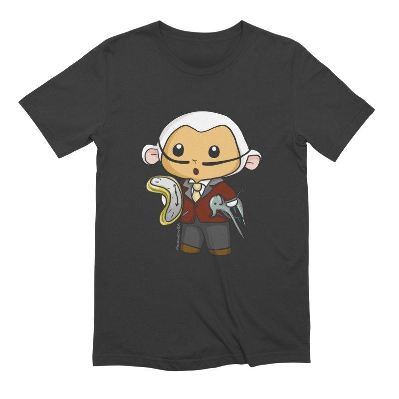 Salvador Lambì Men's Extra Soft T-Shirt by Dino & Panda Inc Artist Shop
