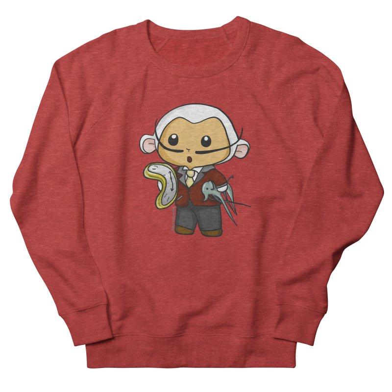 Salvador Lambì Men's French Terry Sweatshirt by Dino & Panda Inc Artist Shop