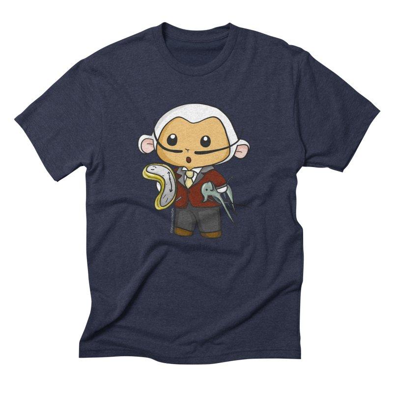 Salvador Lambì Men's Triblend T-Shirt by Dino & Panda Inc Artist Shop