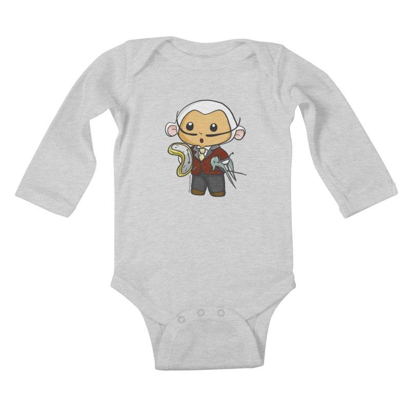 Salvador Lambì Kids Baby Longsleeve Bodysuit by Dino & Panda Inc Artist Shop