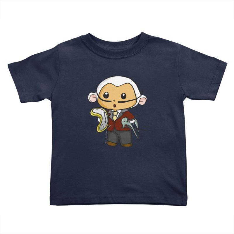 Salvador Lambì Kids Toddler T-Shirt by Dino & Panda Inc Artist Shop
