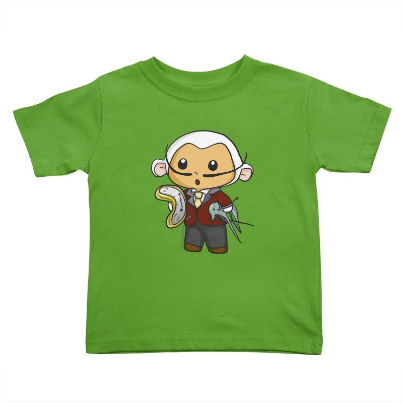 Salvador Lambì Kids Toddler T-Shirt by Dino & Panda Artist Shop