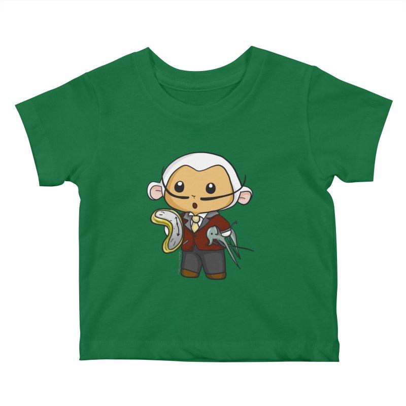 Salvador Lambì Kids Baby T-Shirt by Dino & Panda Artist Shop