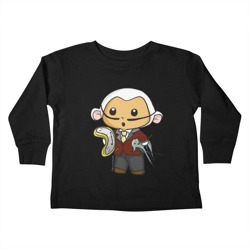 Salvador Lambì Kids Toddler Longsleeve T-Shirt by Dino & Panda Artist Shop