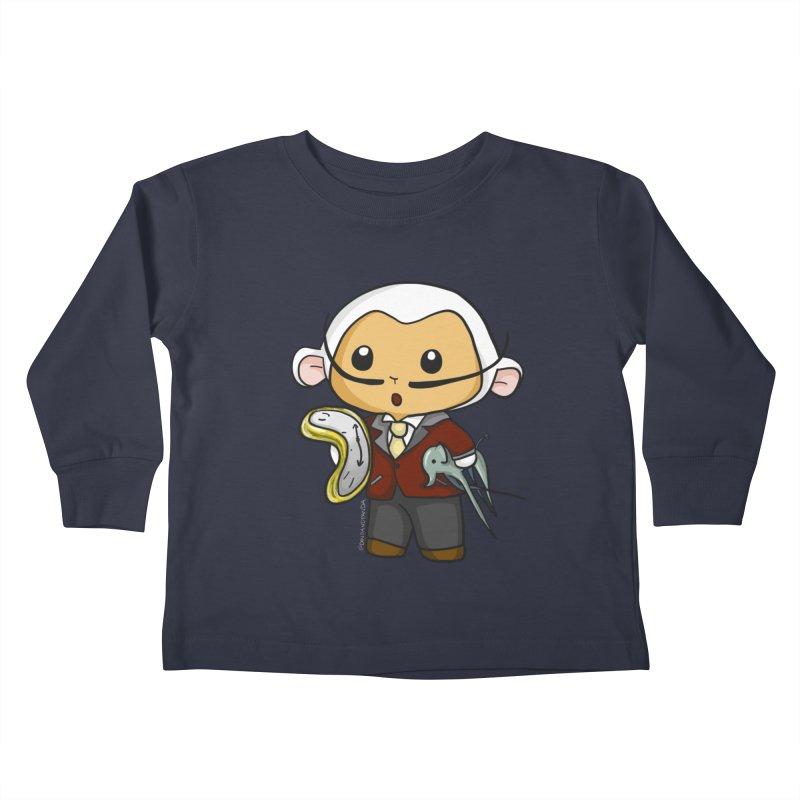 Salvador Lambì Kids Toddler Longsleeve T-Shirt by Dino & Panda Inc Artist Shop