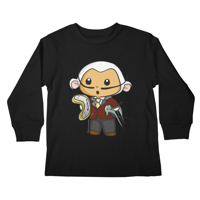 Salvador Lambì Kids Longsleeve T-Shirt by Dino & Panda Inc Artist Shop