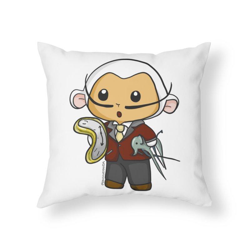 Salvador Lambì Home Throw Pillow by Dino & Panda Inc Artist Shop